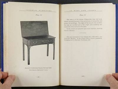 Antique New Jersey Colonial Furniture - 1936 Limited Edition Book