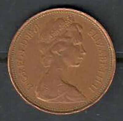Great Britain - Two Pence Coin - 1971