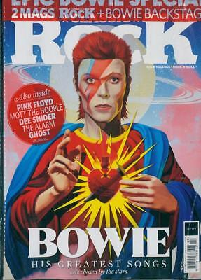 Classic Rock Magazine Summer 2018 (Bowie, Pink Floyd + Bowie Backstage Mag) New