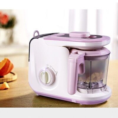 5 in 1 Puree Heating Cook Steamer Defrosting Blender Baby Food Feeding Processor