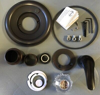 Danco Tub Shower Valve Trim Kit Delta Oil Rubbed Bronze 2 Handle
