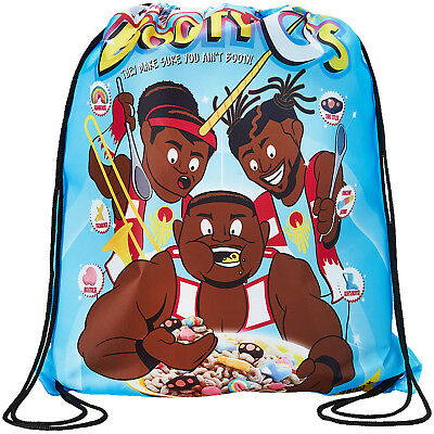 WWE THE NEW DAY Booty O's OFFICIAL DRAWSTRING BAG TURNBEUTEL TASCHE