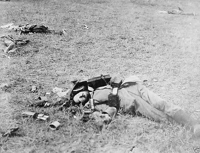 Dead German soldiers First Battle of the Marne 1914 World War I 8x10 Photo