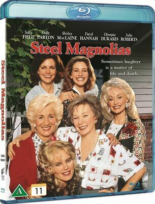 STEEL MAGNOLIAS (1989) IMPORT Blu-Ray BRAND NEW Free Ship - USA Compatible