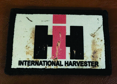 International Harvester Tractor Morale Patch Tactical Military Army USA Badge
