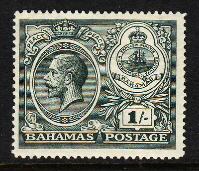 Bahamas — Scott 69 (Sg 110) — 1920 Kgv 1/- Peace Definitive — Mh — Scv $22.50
