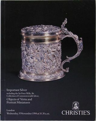 Antique English Early Silver -Commonwealth Period - Peter Wills Collection