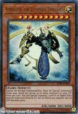 BLRR-EN056 Sephylon, the Ultimate Timelord Ultra Rare 1st Edition Mint YuGiOh Ca