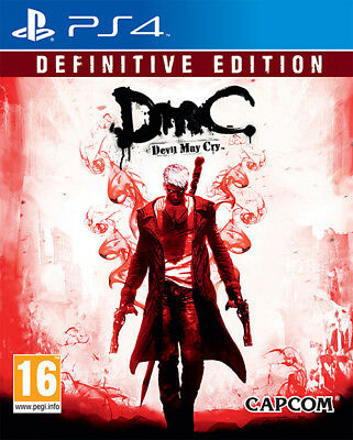 Devil May Cry (Dmc) Definitive Edition Ps4 Brand New Sealed Official