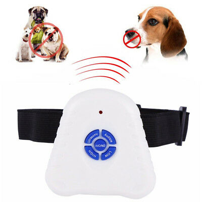 Anti Bark Dog Collar Ultrasonic Stop Dog Barking Collar Deterrent Control Device