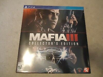 Brand New Mafia III: Collector's Edition Sony PlayStation 4 PS4