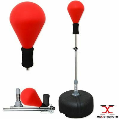 Adjustable Free Standing Boxing Gym Training Speed Ball Fitness Punching Bag MMA