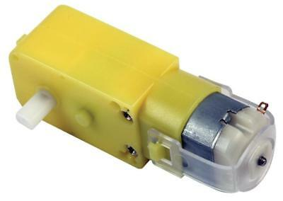 Inline 6V DC Motor And Gearbox, 120:1 - PRO ELEC