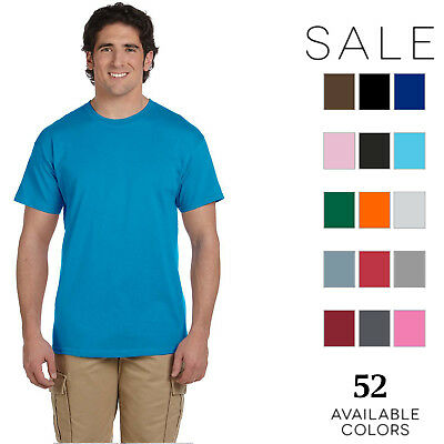 Fruit of the Loom Mens 5 oz. Heavy Cotton HD T-Shirt 3931 (10 PACK) All Sizes