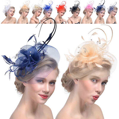 Grace Ladies Hat Wedding Sinamay Fascinator Occasion Hats Party Derby Cocktail