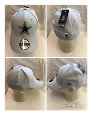 NFL Dallas Cowboys 2018 New Era 39Thirty OFFICIAL Training Day Cap Hat 91a35d510