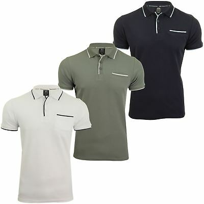 Crosshatch - 'Resernate' - Polo - Manches courtes - Homme
