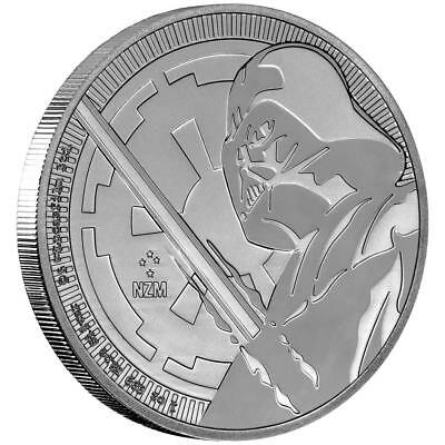 Niue 2 Dollar 2018 Darth Vader Star Wars 1 Oz Silber St
