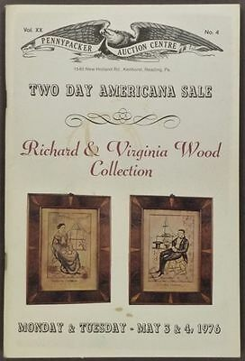 Antique American Folk Art & Country Americana - Wood Collection- 1976 Catalog