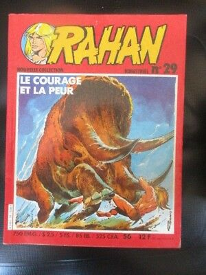 RAHAN N°) 29 Nouvelle collection Le courage et la Peur