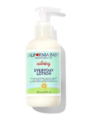 California Baby Calming Everyday Lotion For Sensitive Skin - French Lavender