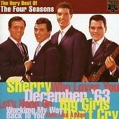 The Four Seasons - Very Best of the Four Seasons (1995) cd album Frankie Valli