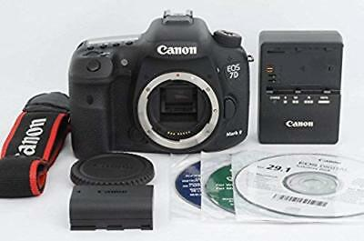Canon EOS 7D Mark II Digital SLR Camera (Body Only) Shutter:123