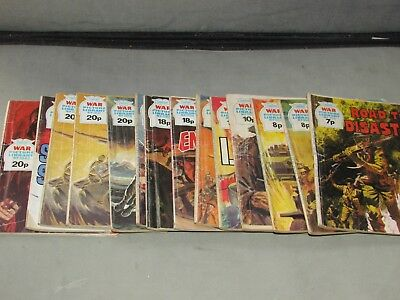 **LOOK** 14 x Vintage WAR PICTURE LIBRARY Comic Books 958 - 1845 FREE UK P+P