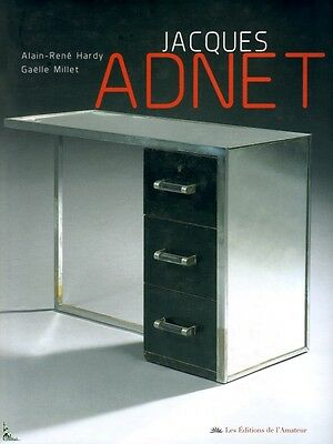 Jacques Adnet, French designer, French book by Hardy Millet