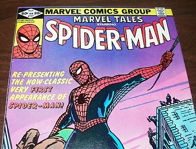 AMAZING FANTASY #15 1st Spider-Man Reprint in Marvel Tales #137 from Mar. 1982
