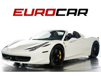 Other Spider 2013 Ferrari 458 Spider - HIGHLY-OPTIONED, SUSPENSION LIFTER, CARBON INTERIOR
