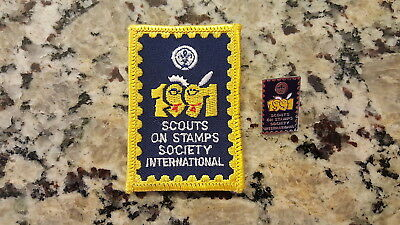 17th World Jamboree Mondial, Scouts on Stamps Society International Patch & Pin