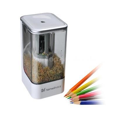 Automatic Desktop Electric Pencil Sharpener Home School Office Classroom Supply