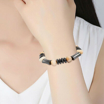 Hematite Magnetic Healthcare Weight Loss Slimming Bracelets Therapy Wrist Bangle