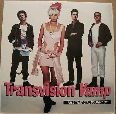 TRANSVISION VAMP - Tell that Girl to Shut Up - 12in EP -USA - Alternative - L@@K