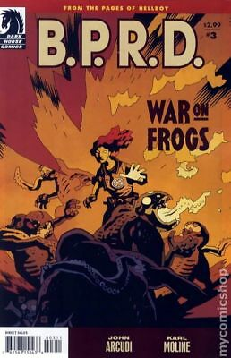 BPRD War on Frogs #3 2009 FN Stock Image