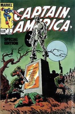 Captain America Special Edition #2 1984 FN Stock Image