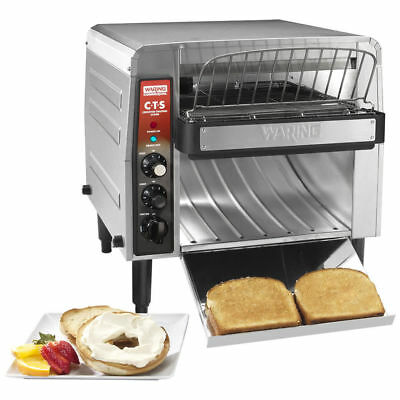 NEW Waring - CTS1000B  Commercial  Electric Countertop Conveyor Toaster