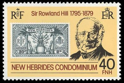 BRITISH NEW HEBRIDES 267 (SG273) - Sir Rowland Hill Death Centenary (pf61686)