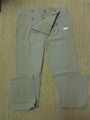 18th century Drop/fall front long pants- size 38 NEW