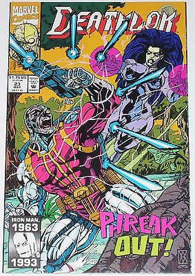 Deathlok #23 from May 1993 VF+ to NM-