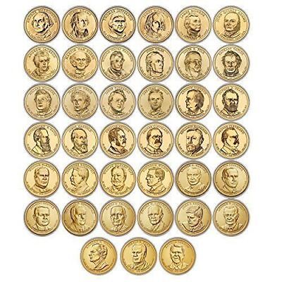 2007-2016 P 39 Coin BU Complete Presidential Dollar Series Set From US Mint Roll