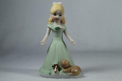 Growing Up Girls - Age 7 Blonde #E-2307 Beautiful New In Box