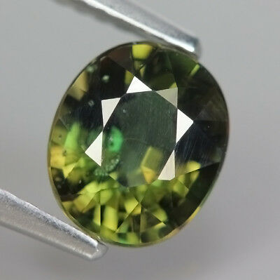 1.51 Ct Natural Unheated Greenish Yellow KORNERUPINE Oval Gem @ See Video !!
