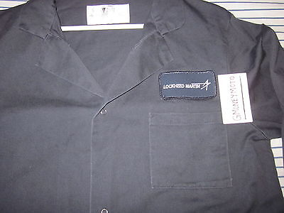Manufacturing Production Assembly Coat/smock Work Uniform Mens Small Loose Fit
