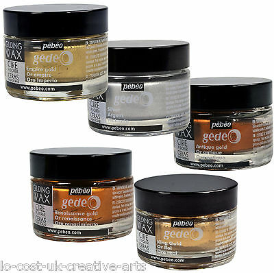 Pebeo Gedeo Gilding Wax 30Ml Jar - Choose From 5 Different Colours