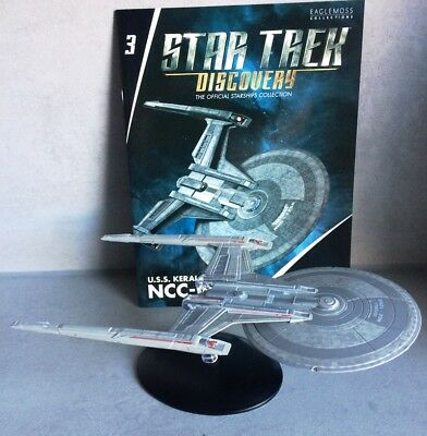 Star Trek Discovery Starships Collection Eaglemoss #3 U.S.S. Kerala (Shepard) en