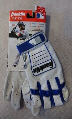 Franklin Batting Glove - Gr. M - CFX PRO Series - Baseball-Handschuh - weiß