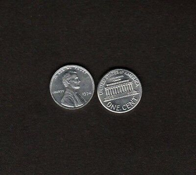 U.S. 1974 Aluminum One Cent Penny Fantasy Issue Coin