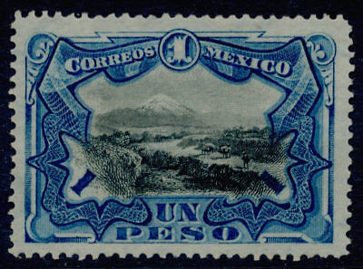 ye48 Mexico #302 1 Peso 1899 issues Mint No Gum ExF Beauty Sc $80